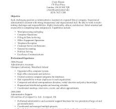 Resume Objective Statements Delectable General Resume Objective Statement Samples Simple Objectives For