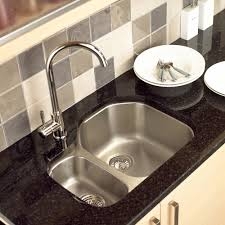 under mount sink of kitchen scratch resistant with single hole faucet design