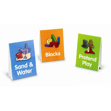 Learning Center Pocket Chart Early Learning Centers Pocket Chart