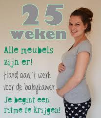 Zwanger week 25