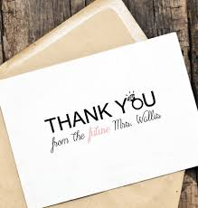 personalized wedding thank you cards lilbibby com Custom Photo Thank You Cards Wedding personalized wedding thank you cards for inspirational captivating wedding card ideas create your own design 20 Wedding Thank You Card Designs