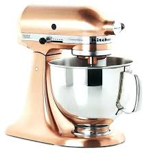 kitchenaid copper mixers copper metallic series stand mixer