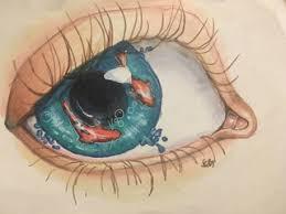 realistic koi fish drawing. Wonderful Drawing Touchnew Marker Fish Orange Eye Pwgallery Artistsloft Blue Inside Realistic Koi Fish Drawing H
