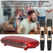 Karaoke System Singing Machine mit 2 Mikrofone HDMI USB für TV PC Handy