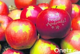 Echte äpfel Als Christbaumkugeln Onetz