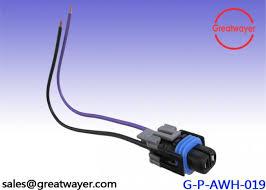 automobile wiring harness 2 pin male waterproof connector gxl 0 35mm black automobile wiring harness 2 pin male waterproof connector gxl 0 35mm