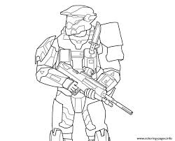 Small Picture halo 5 Coloring pages Printable