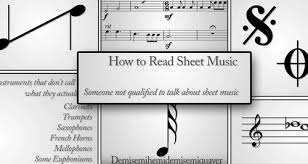 read sheet music this video perfectly nails the ridiculousness of learning to read
