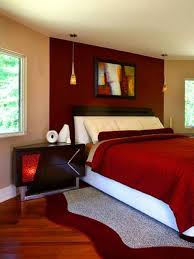 Red Bedroom For Couples Romantic Bedroom For Couples With Red Bedding And Walls And