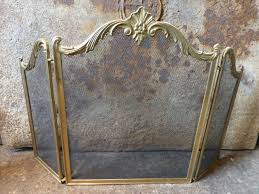 antique fireplace screen. antique fireplace screen for marvelous french screens d