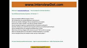 top behavioral job career interview questions and tips top behavioral job career interview questions and tips