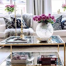 best 25 silver coffee table ideas only on gold glass brilliant living room table decor