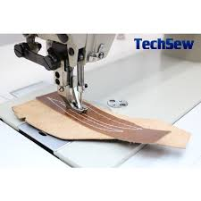 techsew 0302 drop feed walking foot industrial sewing machine