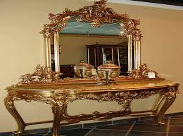 antique entryway furniture. inspiring entryway furniture design ideas breathtaking gold color victorian tables and mirrors set with antique