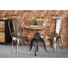 industrial crank round table