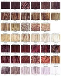 European People Auburn Hair Color Chart 10 Cm Sgs