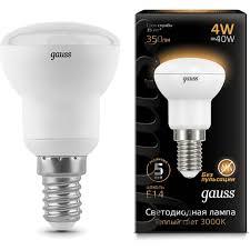 <b>Лампа Gauss 106001104</b> LED <b>Reflector</b> R39 E14 4W 2700K