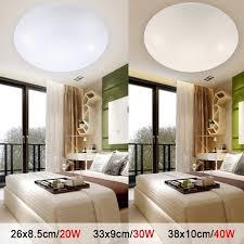 led lighting living room. LED Ceiling Lights Dia 260mm Acrylic Warm White Cool 20W 30W 40W Modern Lamp Led Lighting Living Room