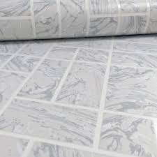 Kitchen Wallpaper Holden Marble Tile Pattern Effect Kitchen Bathroom Wallpaper 89251