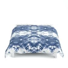tie dye indigo blue duvet cover duck egg single vertical dash navy