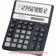 <b>Калькулятор CITIZEN SDC</b>-<b>888XBK</b>; черный корпус, 2-ое питание ...