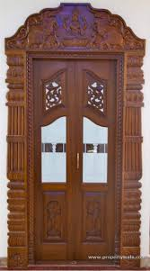 Tamil Nadu Front Double Door Designs Pooja Doors Pooja Room Door Design Room Door Design