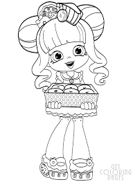 Shopkins Shoppies Coloring Pages For Kids Download 8 Shopkins