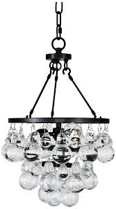 robert abbey bling abbey bling small chandelier bronze glass robert abbey bling chandelier bronze