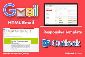 Template Email Outlook Create Html Email Template For Your Gmail Or Outlook
