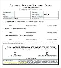 Job Evaluation Template Performance Appraisal Template Word Beautiful Best Employee ...