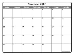 november 2017 calendar november 2017 calendar printable
