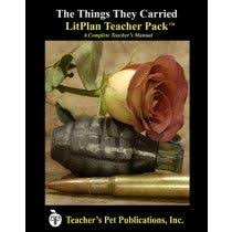 the things they carried by tim o brien personal artwork litplan teacher pack for the things they carried complete unit of study open