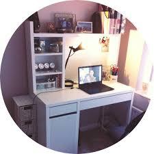 love my new ikea micke desk more chic ikea micke desk white