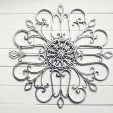 snowflake christmas metal wall scroll outdoor decor wall medallion silver decor on outdoor metal wall hanging with snowflake christmas metal wall scroll from willowsgrace on