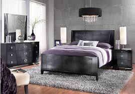 Amazing of Black Bedroom Sets Queen Sofia Vergara Biscayne 5 Pc