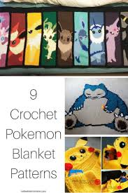 Crochet Pokemon Patterns Magnificent Inspiration