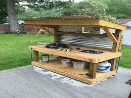 outdoor kitchen ideas on a budget unique weber kettle homemade cart cozy ideas design