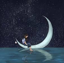 Pin By John On Art Moon Art Moon Stars Moon
