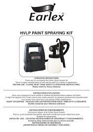 Earlex Hv1900 Operating Instructions Manualzz Com