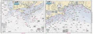 Captain Segull Chart No Aa45 Apalachee Bay Apalachicola Bay To Cape San Blas