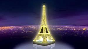 3d Puzzle Eiffelova Věž Noční Edice 216 Dílků Ravensburger