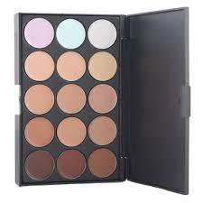 amazon kolight professional 15 color cream concealer camouflage foundation makeup palette contour face contouring kit beauty