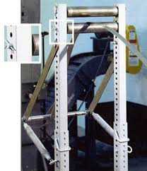 unistrut and structural steel support system material handling applications