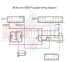 oem fog light wiring diagram cb7tuner forums so for anyone who wants to make their own fog light harness and work like oem and not accessory here is a diagram