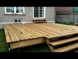 FLOATING DECK MADE EASY. STEP BY STEP INSTRUCTIONS FOR BEGINNERS. PLUS  STAIRS.