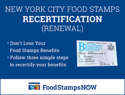 Maybe you would like to learn more about one of these? Nyc Food Stamps Recertification Food Stamps Now