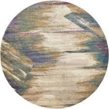 aurora beige 8 x 8 39 round rug