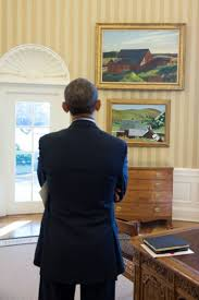 oval office paintings. President Obama Views Cobb\u0027s Barns, South Truro, Top, And Burly House, Oval Office Paintings A