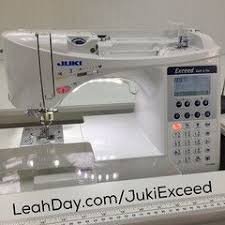14 best Sewing Machine Reviews images on Pinterest | Sewing ... & Learn more about the Juki Exceed one of Leah Day's favorite sewing machines  that has many awesome features for sewing, patchwork, and machine quilting. Adamdwight.com