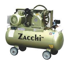 compresor industrial. zacchi horizontal air compressor (industrial belt type) compresor industrial z